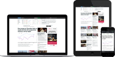 MarketWatch on Multiple devices